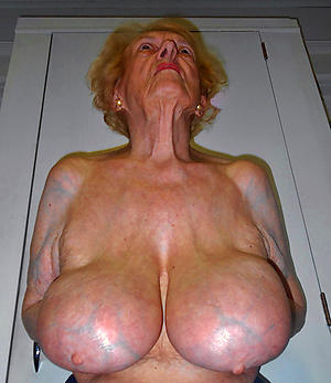 horny old grandmothers love posing nude