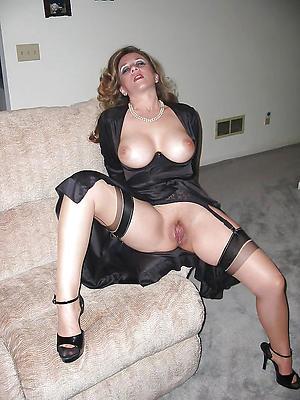 superb mature woman in heels