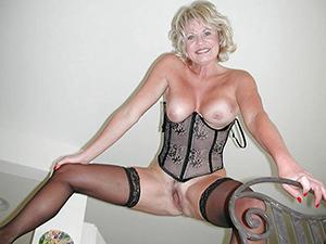 nude ladies in underthings