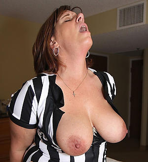 crazy mature large nipples