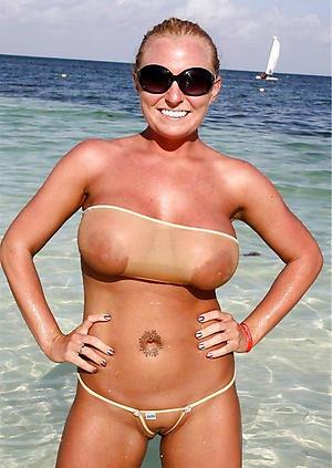 hot bikini women love posing nude