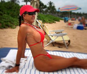 xxx hot bikini women