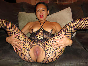single asian women posing overt
