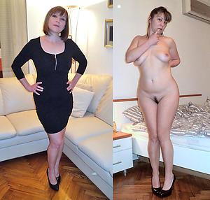 nice dressed undressed women