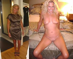 simmering granny dressed undressed
