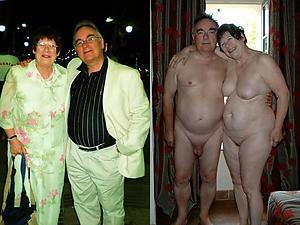 surprising ladies dressed and undressed