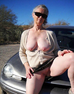 naked matriarch with glasses