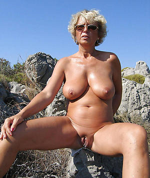 granny on tap the beach nude by no chance