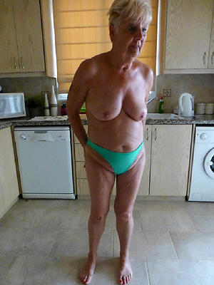grannys in bloomers posing nude