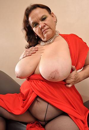 nice old lady nearby pantyhose