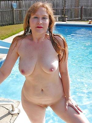 redhead hair granny with big tits bungler pics