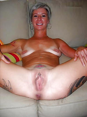 naughty mature body of men with consolidated tits