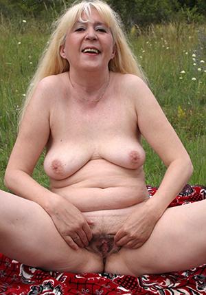 well-endowed blonde granny free pics