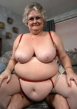 old bbw grannies love posing nude
