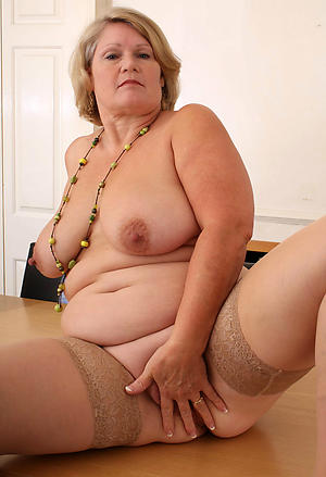 comely old bbw grannies