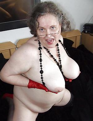 naked bbw heavy granny