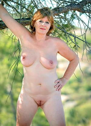 beautiful elderly women posing nude
