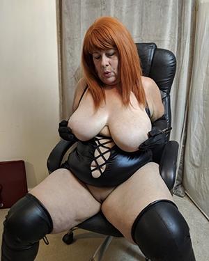 sexy mature redhead wife