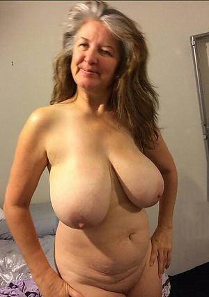 naked big granny tits