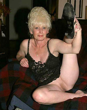 grannies in assuming heels private pics