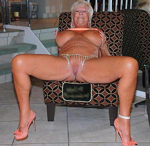 dominate grannies in high heels nude pics