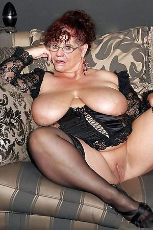 fabulous grannies in stockings porn pic