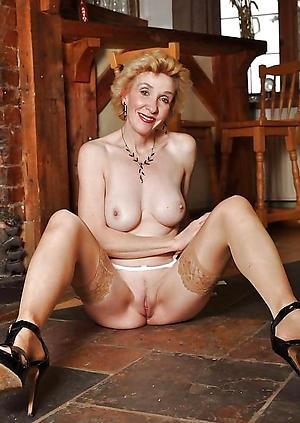 horny shaved granny pussy nude pics