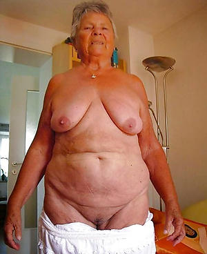 older grannies posing nude