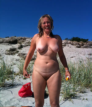 free pics of granny atop the beach