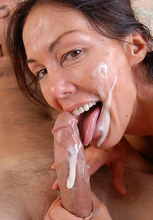 horny older women giving blowjobs pic
