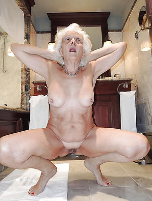 nice not roundabout old naked women