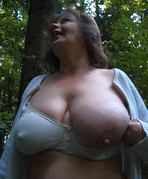 crazy grannies with huge nipples porn pic