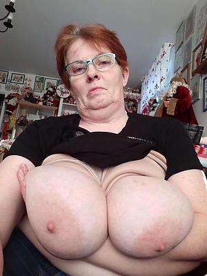 big tits on older women private pics