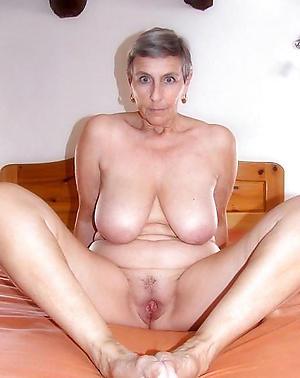 horny granny pussy stripped photo