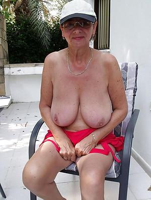 granny pussy posing meagre