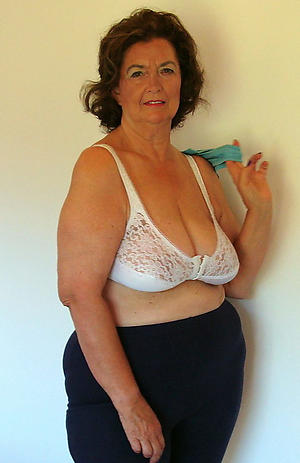 super-sexy old women in lingerie
