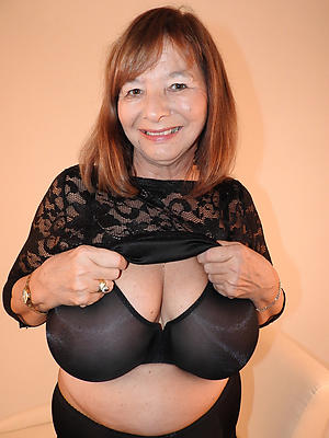 crazy granny lingerie porn pic
