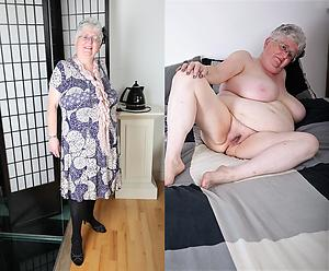 xxx pictures of granny dressed undressed