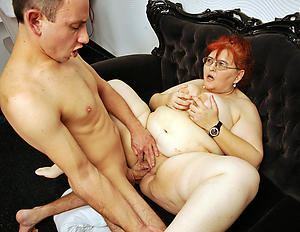 horny mature redhead granny