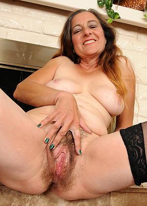 nude senior woman masturbates pics