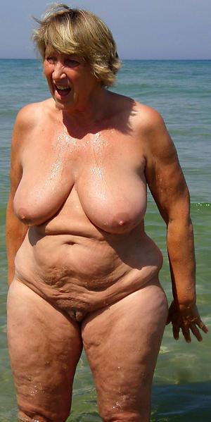 granny nude beach unsocial pics