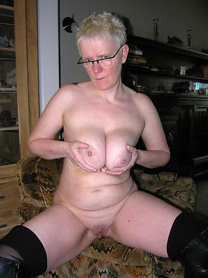 busty grannies posing nude