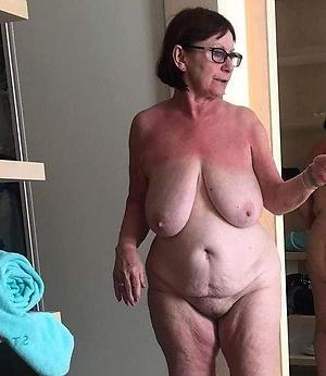 broad in the beam busty grannies posing nude