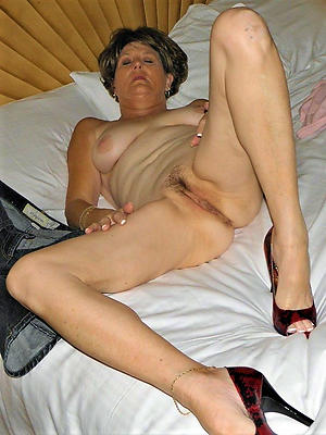 horny granny in heels