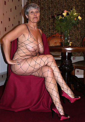sexy granny in heels