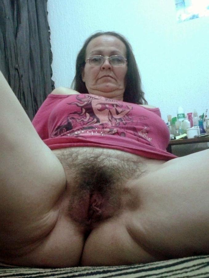 Pic hairy granny Girls in